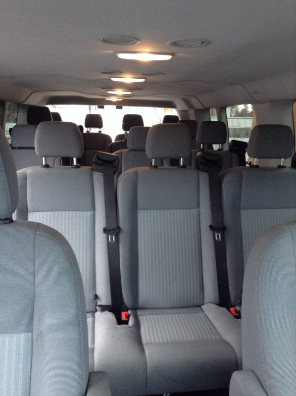 Ford 15 Passenger Van >> Premium Full-Size 15 Passenger Van – Midnight Sun Car and ...