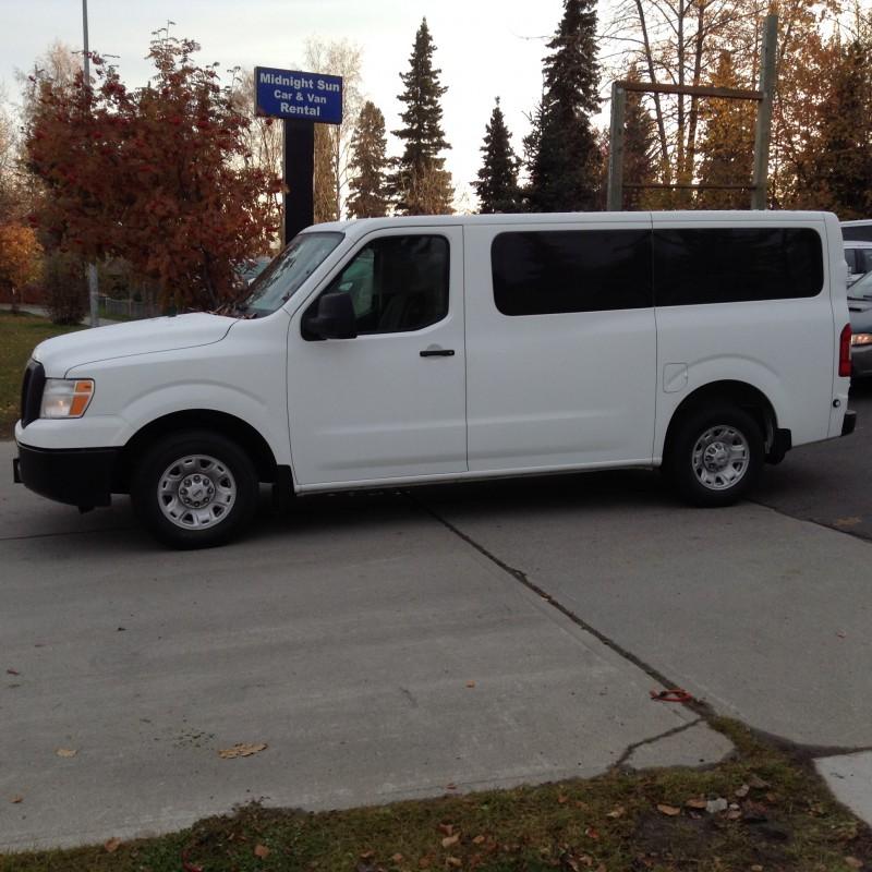 Available Vehicles In Premium 12 Passenger Van Class